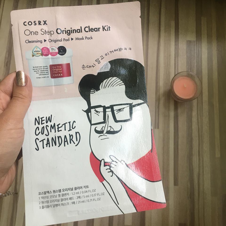 Review COSRX Kit pentru curățare în profunzime One Step