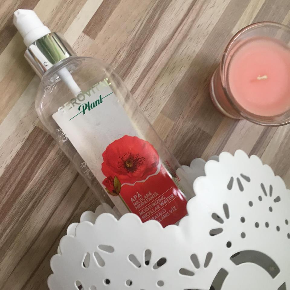 Review Apă micelară hidratantă Gerovital