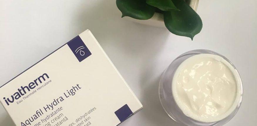 Review Cremă pentru față Ivatherm Aquafil hydra light