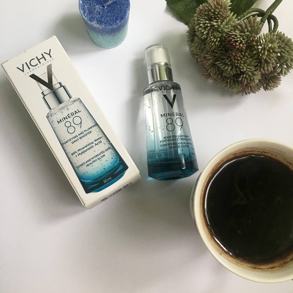 Review Gel Booster Vichy Mineral 89