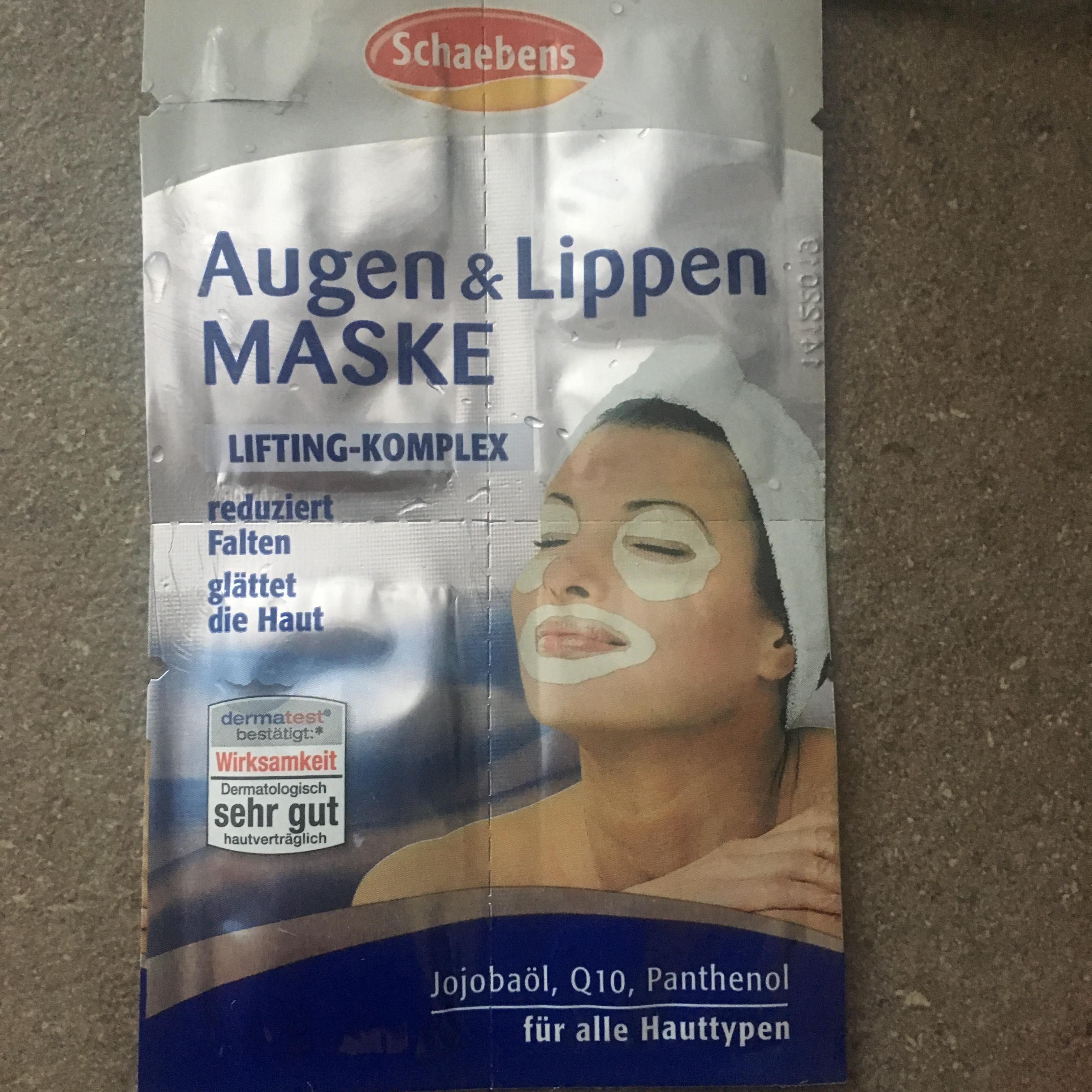 schaebens masca pentru buze si ochi