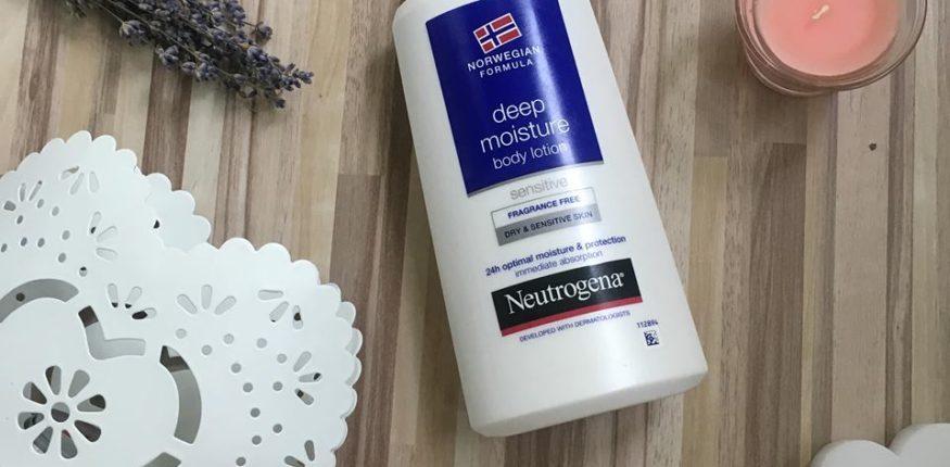 review loțiune pentru corp neutrogena fără parfum