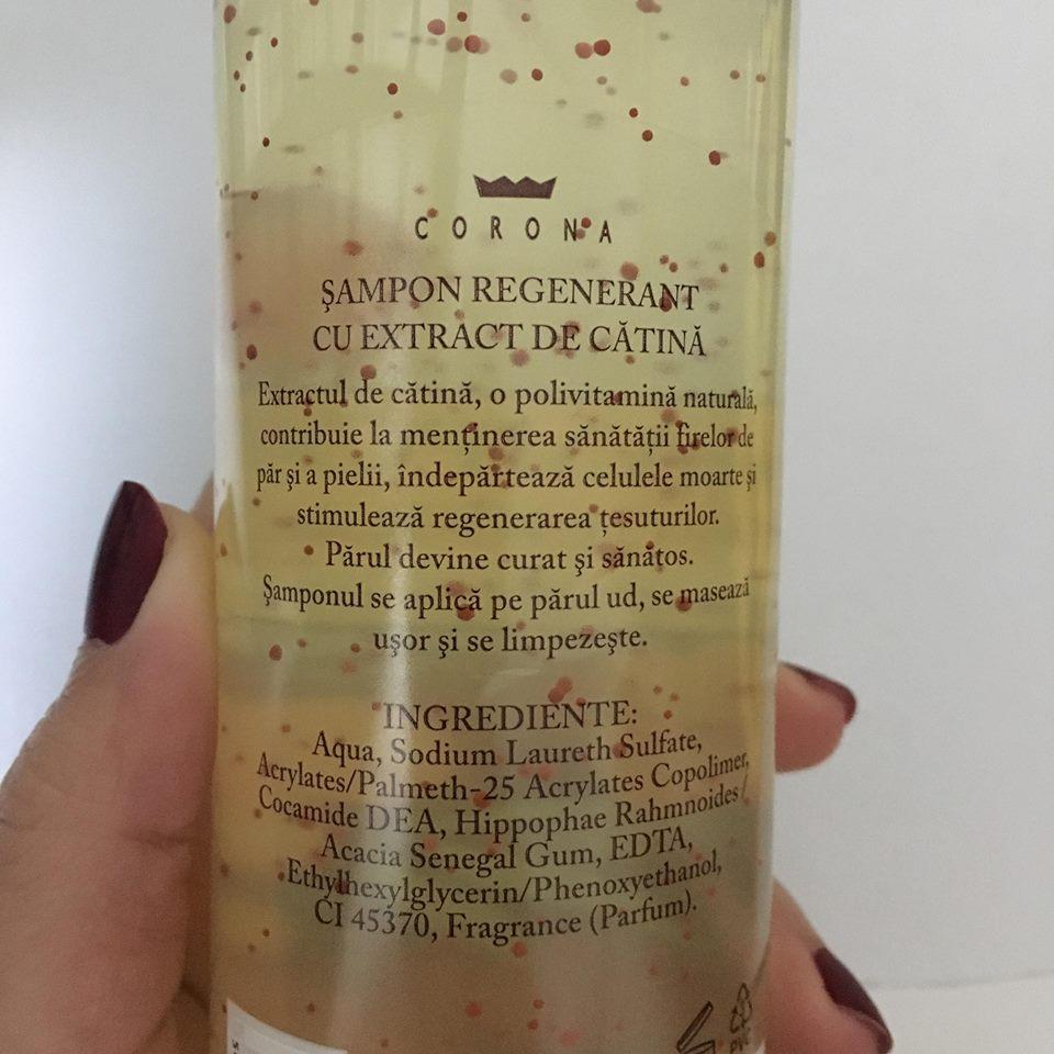 șampon cătina corona