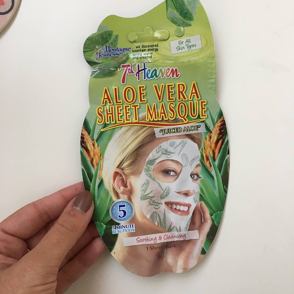 7thHeaven masca pentru fata cu aloe vera