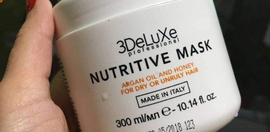 3deluxe mască nutritivă pentru păr