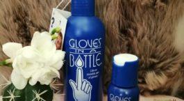 gloves in a bottle