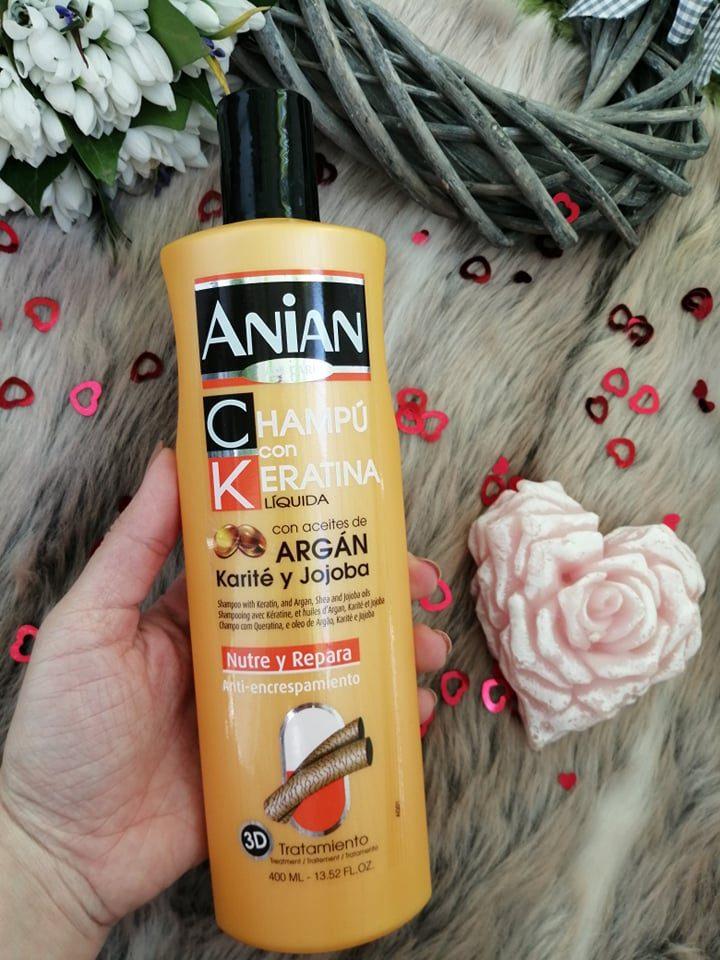 anian șampon cu keratină