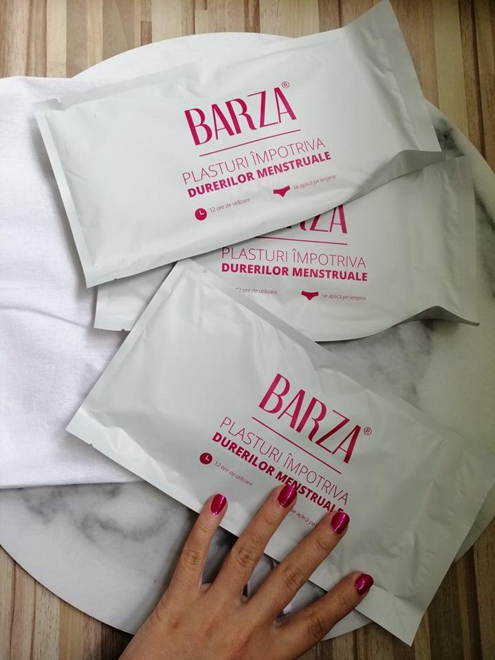 barza plasturi impotriva durerilor menstruale