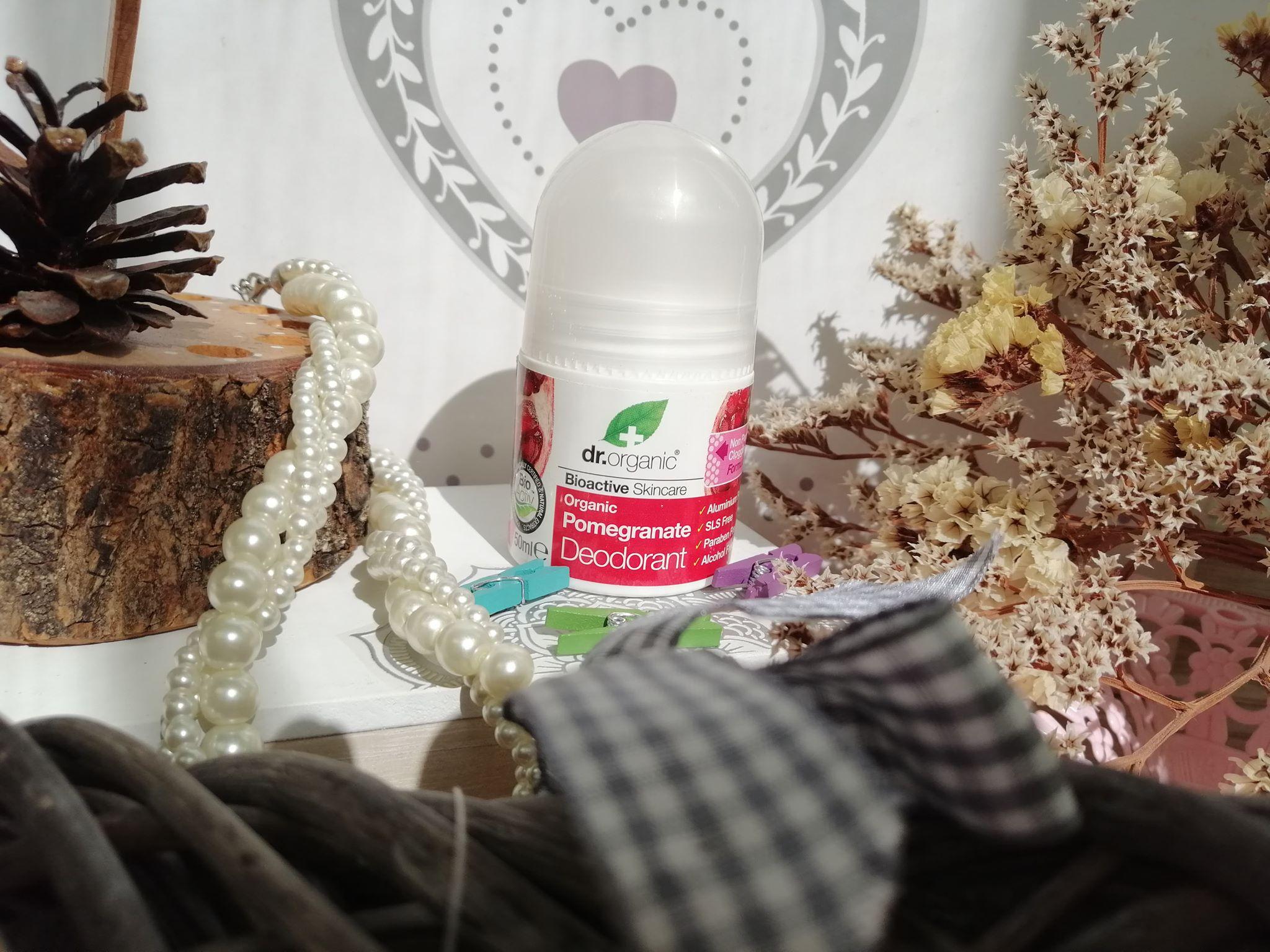 dr organic deodorant cu rodie