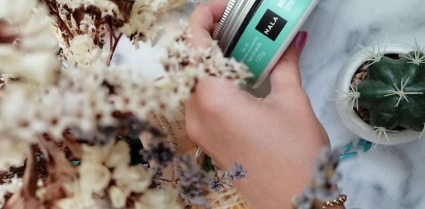 nala cosmetics crema corp flori de primavara