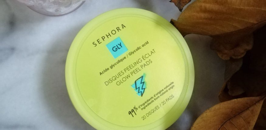 sephora dischete exfoliante cu acid glicolic