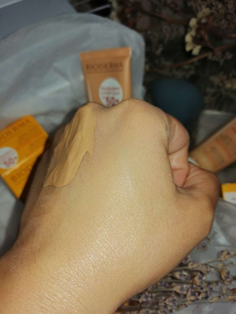 bioderma cover touch swatch